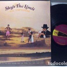 Discos de vinilo: THE TEMPTATIONS / SKY'S THE LIMIT 71, RARA 1ª EDIC USA MOTOWN / GREAT FUNK PSYCH SOUL, TODO EXC !!!. Lote 115462267