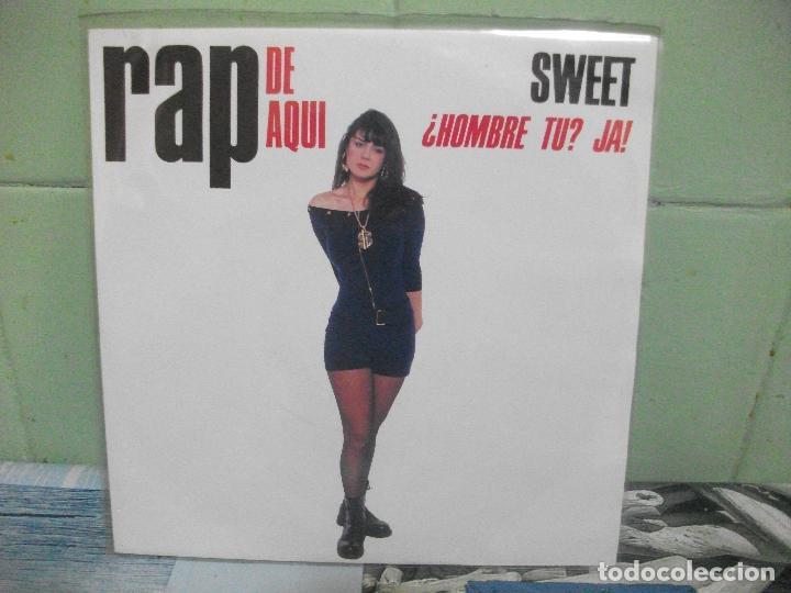 Discos de vinilo: VARIOS - RAP DE AQUÍ - 9 SINGLES RAP DE AQUÍ SINGLES SPAIN 1990 PDELUXE - Foto 3 - 158675850