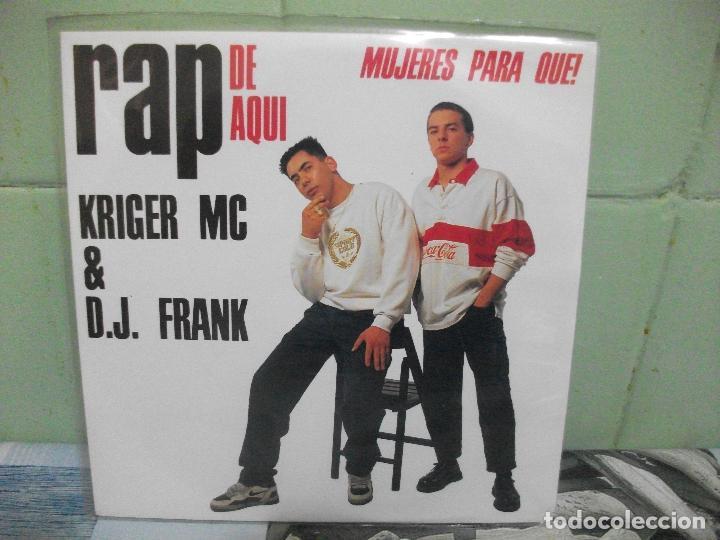 Discos de vinilo: VARIOS - RAP DE AQUÍ - 9 SINGLES RAP DE AQUÍ SINGLES SPAIN 1990 PDELUXE - Foto 7 - 158675850