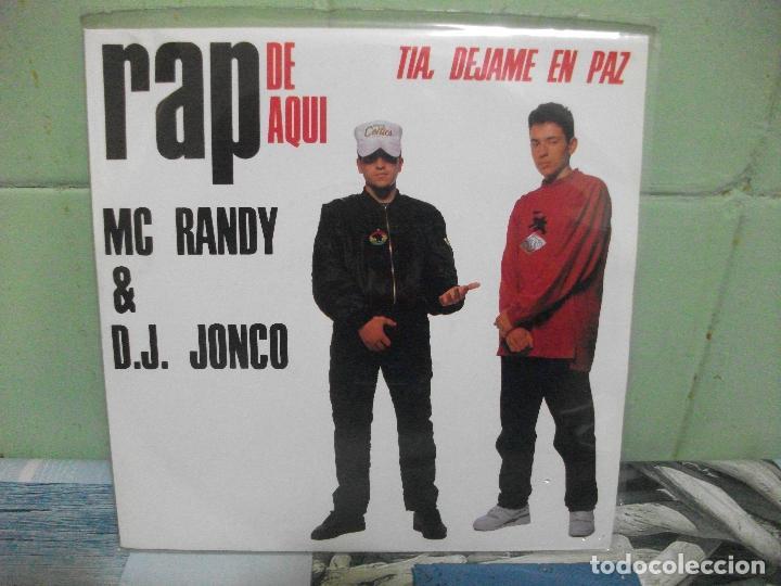 Discos de vinilo: VARIOS - RAP DE AQUÍ - 9 SINGLES RAP DE AQUÍ SINGLES SPAIN 1990 PDELUXE - Foto 9 - 158675850