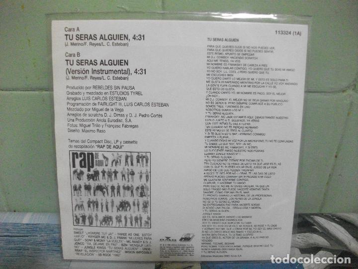 Discos de vinilo: VARIOS - RAP DE AQUÍ - 9 SINGLES RAP DE AQUÍ SINGLES SPAIN 1990 PDELUXE - Foto 10 - 158675850