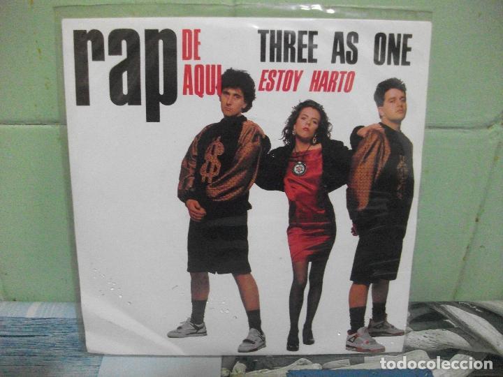 Discos de vinilo: VARIOS - RAP DE AQUÍ - 9 SINGLES RAP DE AQUÍ SINGLES SPAIN 1990 PDELUXE - Foto 13 - 158675850