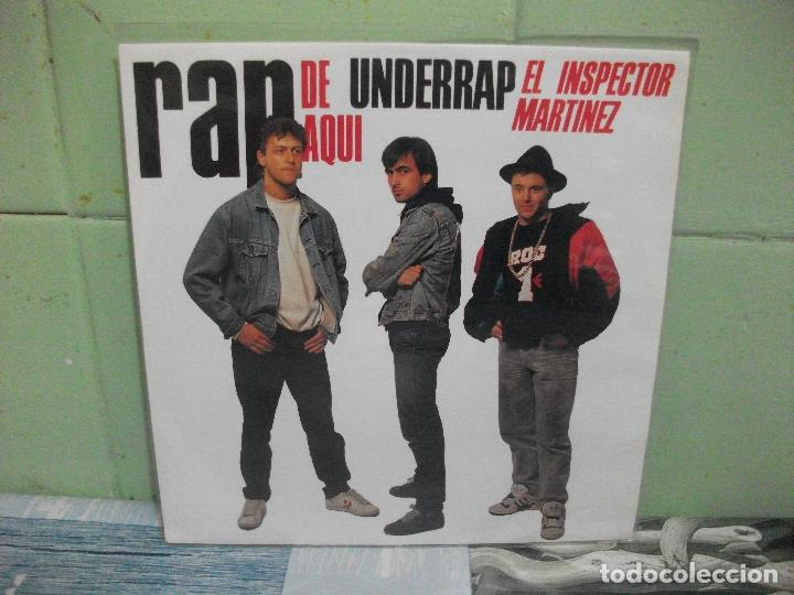 Discos de vinilo: VARIOS - RAP DE AQUÍ - 9 SINGLES RAP DE AQUÍ SINGLES SPAIN 1990 PDELUXE - Foto 19 - 158675850