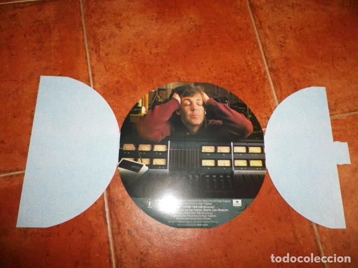 Discos de vinilo: PAUL McCARTNEY Press MAXI SINGLE VINILO 1986 UK PORTADA REDONDA THE BEATLES 3 TEMAS 10 PULGADAS RARO - Foto 2 - 158679526