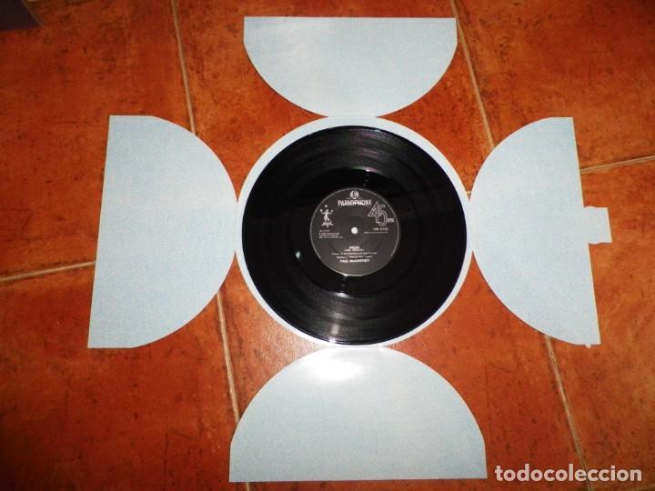 Discos de vinilo: PAUL McCARTNEY Press MAXI SINGLE VINILO 1986 UK PORTADA REDONDA THE BEATLES 3 TEMAS 10 PULGADAS RARO - Foto 3 - 158679526