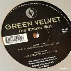 Dischi in vinile: GREEN VELVET - THE STALKER MIXES - 1996. Lote 158696158