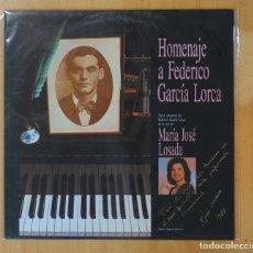 Discos de vinilo: MARIA JOSE LOSADA - HOMENAJE A FEDERICO GARCIA LORCA - LP. Lote 158698404