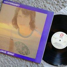 Discos de vinilo: MEDITERRANEO. JOAN MANUEL SERRAT. 1971. Lote 158701320