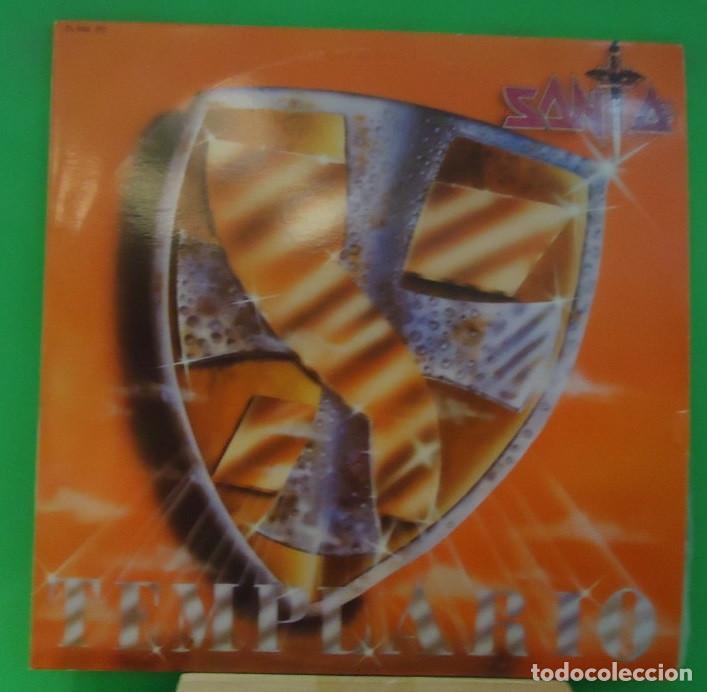 LP SANTA – TEMPLARIO (Música - Discos - LP Vinilo - Heavy - Metal)