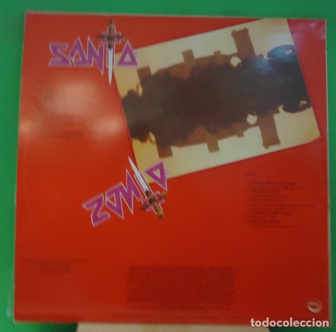 Discos de vinilo: LP Santa – Templario - Foto 2 - 158707050
