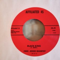 Discos de vinilo: OBIE JESSIE BLACK KING/CLARENCE DANIELS & OBIE JESSE HARD WORKING GIRL SOUL JAZZ ALEMANIA 2014 NM. Lote 158711534