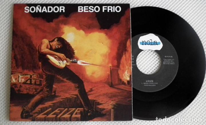 SINGLE LEIZE - SOÑADOR / BESO FRIO (Música - Discos - LP Vinilo - Heavy - Metal)