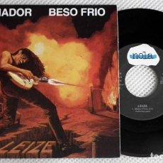 Discos de vinilo: SINGLE LEIZE - SOÑADOR / BESO FRIO. Lote 158727522