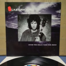 Discos de vinilo: GARY MOORE - OVER THE HILLS AND FAR AWAY 1986 GER. Lote 158735318