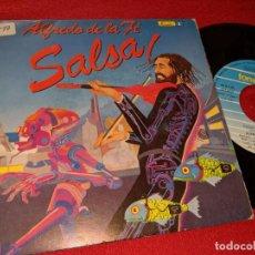 Discos de vinilo: ALFREDO DE LA FE SALSA COMPUTARIZADA/SUENA TU TIMBAL 7'' SINGLE 1990 FONOMUSIC LATIN SPAIN. Lote 158736454