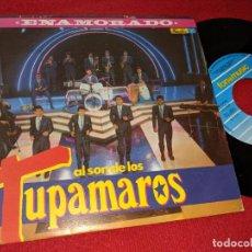 Discos de vinilo: LOS TUPAMAROS ENAMORADO/LA CALLE DE LA RUMBA 7'' SINGLE 1992 FONOMUSIC LATIN SPAIN. Lote 158736734