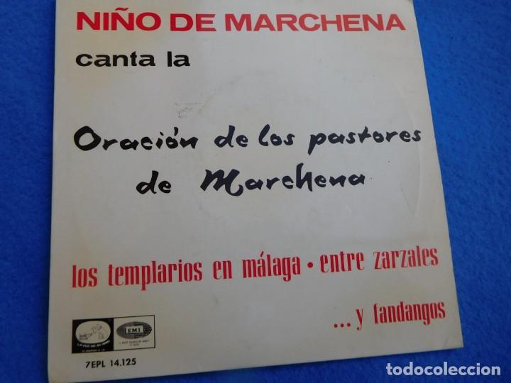 Discos de vinilo: Vinilo de 1964, con 4 magnificas creaciones de Pepe Marchena, en buen estado de conservación - Foto 2 - 158759358