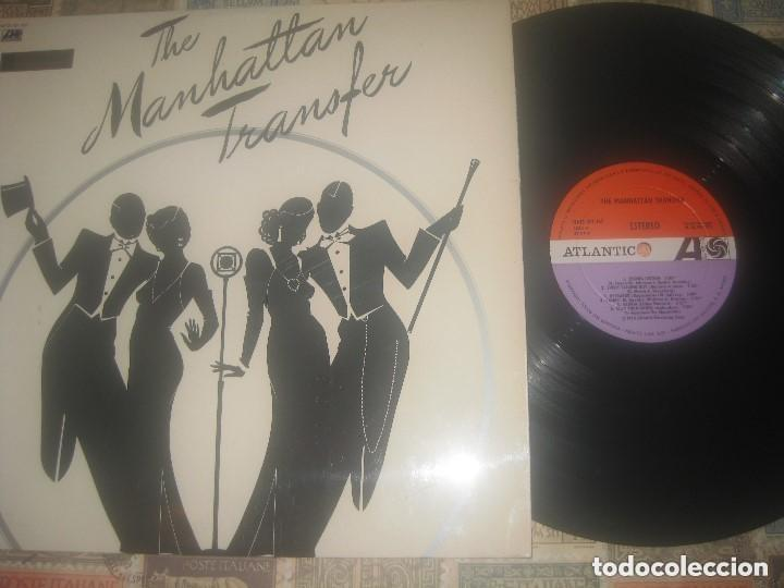 THE MANHATTAN TRANSFER (ATLANTIC -1975) OG ESPAÑA LEA DESCRIPCION (Música - Discos - LP Vinilo - Pop - Rock - Extranjero de los 70)