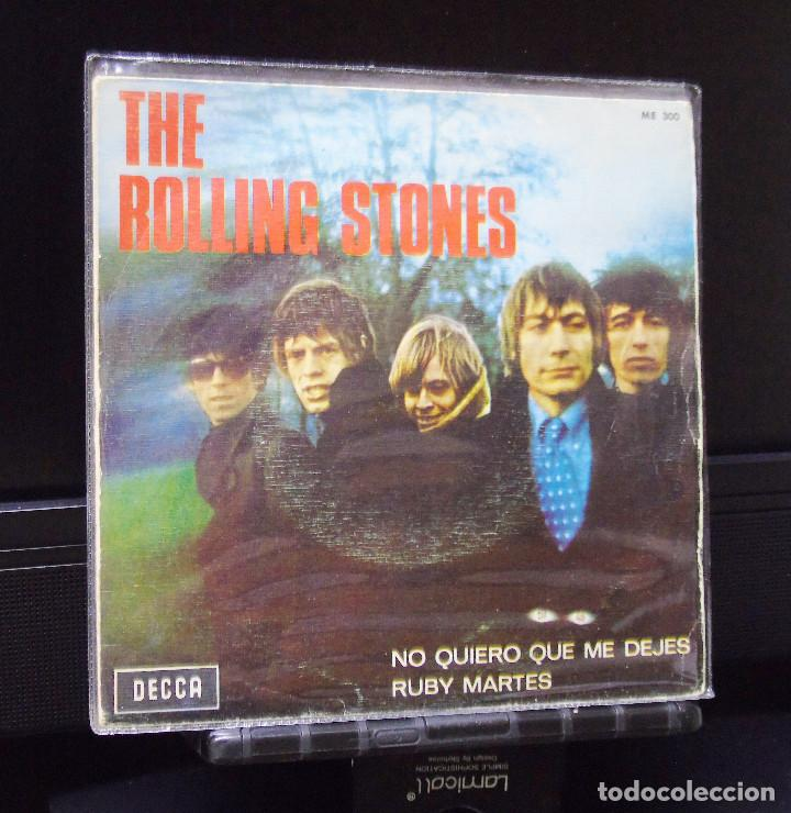 THE ROLLING STONES ---RUBY TUESDAY & LET´S SPEND TONIGHT TOGETHER----  ORIGINAL AÑO 1966