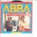 Discos de vinilo: ABBA 45 GIRI ABBA WATERLOO DEUTSCHE VERSION POLYDOR LABEL GERMANY VGVG . Lote 158808158
