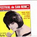 Discos de vinilo: EP SANREMO 1963 FESTIVAL DE SANREMO COCKY MAZZETTI GIOVANE, GIOVANE +3. Lote 158809434
