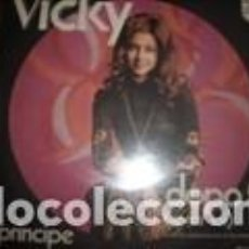 Discos de vinilo: 45 GIRI VICKY DOPO TE /IL PRINCIPE LABEL PHILIPS EDITATO IN ITALY CANZONE PARTECIPANTE ALL'EUROFE. Lote 158809834