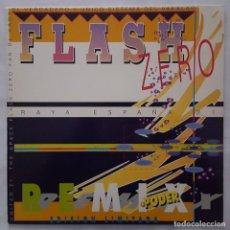 Discos de vinilo: MAXI / FLASH ZERO ?– RAYA ESPAÑA 21 (REMIX) (EDICION LIMITADA). Lote 176015605