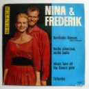 Discos de vinilo: SINGLE DE - NINA & FREDERIK.. Lote 158824562