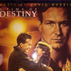 Disques de vinyle: A TIME OF DESTINY. MORRICONE. Lote 158825225