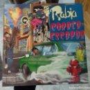 Discos de vinilo: RABIA CORRER Y ESCAPAR LP VINILO NUEVO INSERT. Lote 158826006