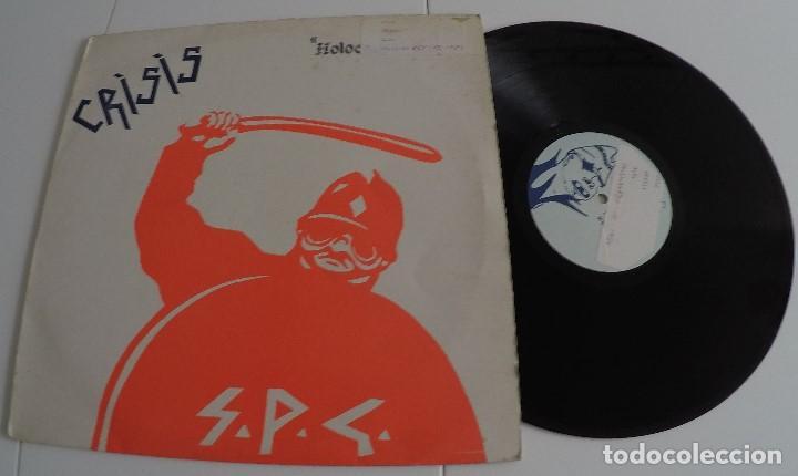 CRISIS - HOLOCAUST - U.K. (PUNK) (Música - Discos - LP Vinilo - Punk - Hard Core)
