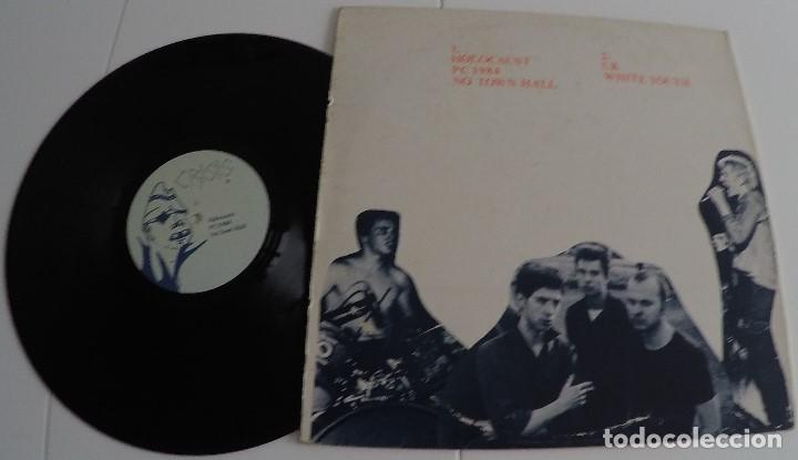 Discos de vinilo: Crisis - Holocaust - U.K. (Punk) - Foto 2 - 158849486
