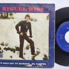 Discos de vinilo: MIGUEL RIOS - YO SOLO SOY UN HOMBRE. Lote 158850698