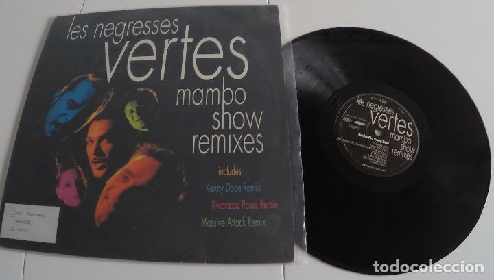 LES NEGRESSES VERTES - MAMBO SHOW REMIXES (Música - Discos de Vinilo - EPs - Disco y Dance)