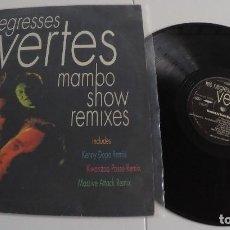 Discos de vinilo: LES NEGRESSES VERTES - MAMBO SHOW REMIXES. Lote 158852350