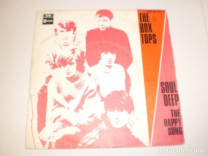 info for where to buy limited guantity single the box tops. soul deep. the happy song. steteside 1969 spain  (probado y bien)