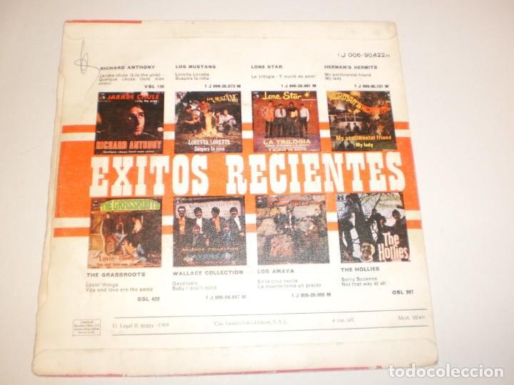 Discos de vinilo: single the box tops. soul deep. the happy song. steteside 1969 spain (probado y bien) - Foto 2 - 158857606
