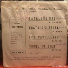 """Discos de vinilo: CONJUNTO OLIVINO """"CATALUÑA RAG"""" EP GROOVE MOOG 1973 SPAIN YOGA. Lote 158869334"""
