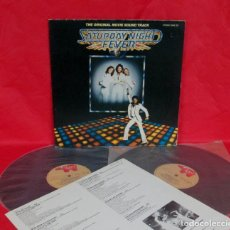 Discos de vinilo: BSO - SATURDAY NIGHT FEVER - 2 LP - RSO 1977 GERMANY - BEE GEES TAVARES YVONNE ELLIMAN JOHN TRAVOLTA. Lote 158885374