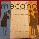 Discos de vinilo: MECANO MAXI SINGLE PROMO BAILA CON MECANO + 6 € DE ENVIO C. N. Lote 158888165