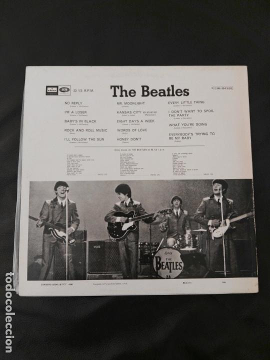 Discos de vinilo: LP Beatles for sale edición España 10c064004200 buen estado - Foto 2 - 158893430