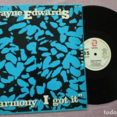 Discos de vinilo: JAYNE EDWARDS HARMONY I GOT IT MAXI SINGLE VINYL MADE IN SPAIN 1984. Lote 158911690