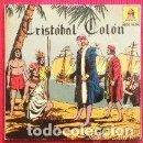 Discos de vinilo: CRISTOBAL COLON (EP 1959) EL DESCUBRIMIENTO DE AMERICA - DISCO ALBUM COMIC - NARRACION CASAS AUGE. Lote 158919974