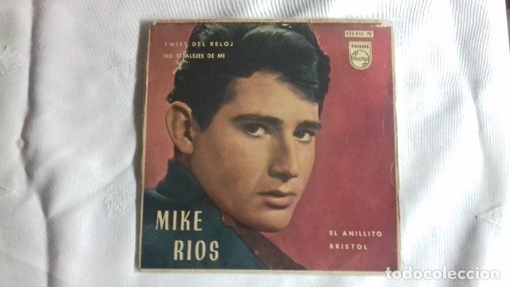 Discos de vinilo: MIKE RIOS - miguel rio TWIST DEL RELOJ ( TWIST AROUND THE CLOCK )- BRISTOL - EP SPAIN 1962 single 45 - Foto 1 - 158931178