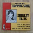 Discos de vinilo: RARE EP SHIRLEY ELLIS THE CLAPPING SONG THIS IS BEAUTIFUL PUZZLE SONG NORTHERN SOUL EXCITERS MAXINE. Lote 158935322
