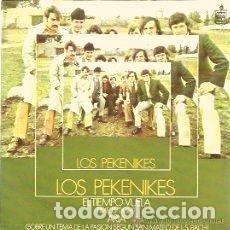 Discos de vinilo: LOS PEKENIKES (SINGLE 1969) EL TIEMPO VUELA - ARIA SOBRE TEMA PASION S. MATEO BACH. Lote 158944806