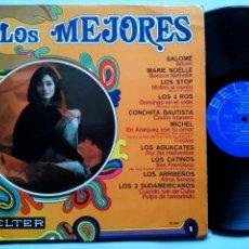Discos de vinilo: LOS MEJORES. LP BELTER 22200. ESPAÑA 1968. SALOMÉ. LOS STOP. LOS 4 ROS. MICHEL. LOS 3 SUDAMERICANOS.. Lote 158945002