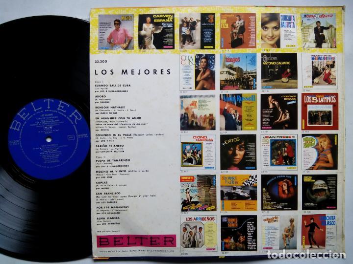 Discos de vinilo: LOS MEJORES. LP BELTER 22200. ESPAÑA 1968. SALOMÉ. LOS STOP. LOS 4 ROS. MICHEL. LOS 3 SUDAMERICANOS. - Foto 2 - 158945002