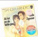 Discos de vinilo: SANDRA +ANDERS AL HET OM DE LIEFDE GAAT EUROVISIE SONGFESTIVAL 1972. Lote 158948038