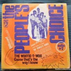 Discos de vinilo: THE PEOPLE´S CHOICE SINGLE SELLO DISCOPHON AÑO 1972 EDITADO EN ESPAÑA. Lote 158953094